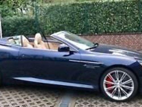 Aston Martin DB9 VOLANTE V12 6.0 476 Ch# SUBLIME