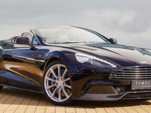 Aston Martin VANQUISH Volante V12 6.0