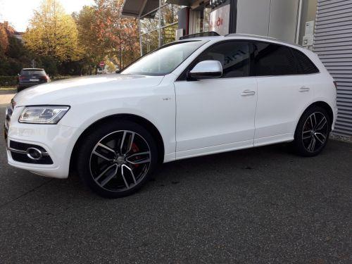 Audi SQ5 + 3.0 BiTdi 340 - Pano-B&O-CAM-Garantie 04.2021