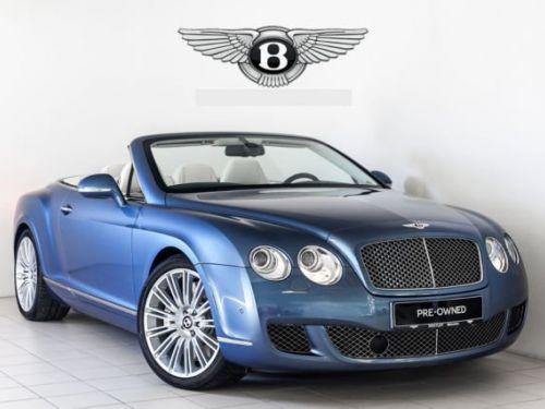 Bentley Continental GTC Speed TRES EXCLUSIVE