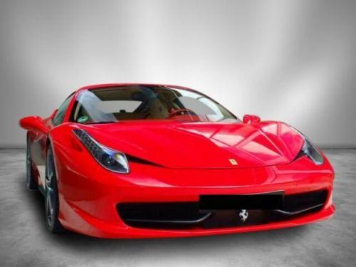Ferrari 458 ITALIA # intérieur cuir Crema/Rosso