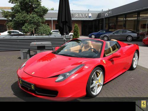 Ferrari 458 Spider SIEGES DAYTONA