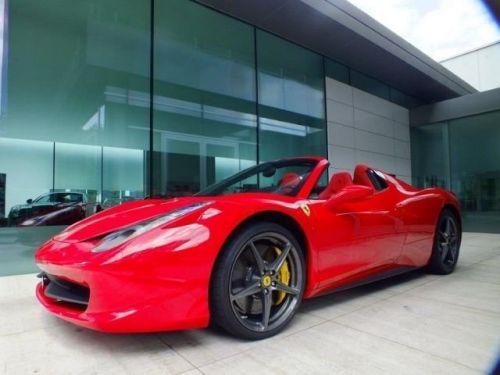 Ferrari 458 Spider TRES EXCLUSIF