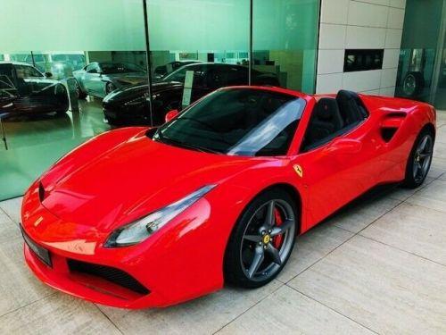 Ferrari 488 SPIDER # SIEGES RACING CARBONE