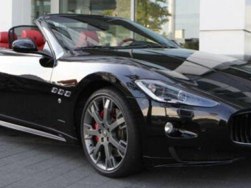 Maserati Grancabrio Sport 4.7 V8 BVA # sublime cuir rosso