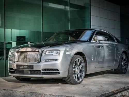 Rolls Royce Wraith Technical Black