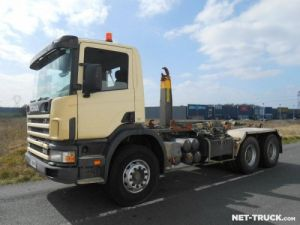 Camion porteur Scania P Ampliroll Polybenne Occasion