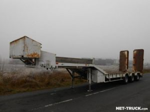 Trailer Actm Heavy equipment carrier body Occasion