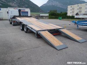 Trailer AMC Castera Heavy equipment carrier body Occasion