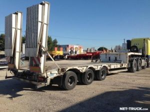Trailer Asca Heavy equipment carrier body Occasion