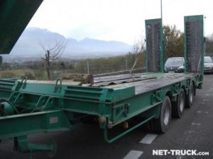 Trailer Castera Heavy equipment carrier body Occasion