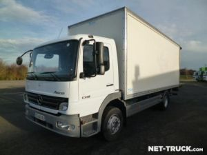 Trucks Mercedes Atego Box body + Lifting Tailboard Occasion