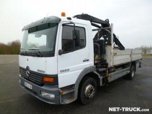 Trucks Mercedes Atego Platform body + crane Occasion