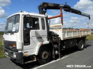 Trucks Volvo FL Tipper body + crane Occasion