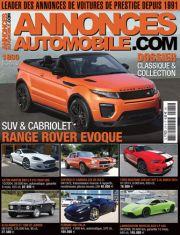 Magazine Annonces Automobile Décembre 2015