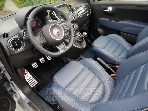 Abarth 695 C RIVALE, Xénon, GPS, Beats, Carbone, Akrapovic Blu Riva / Grigio Ferrari méta Occasion - 5