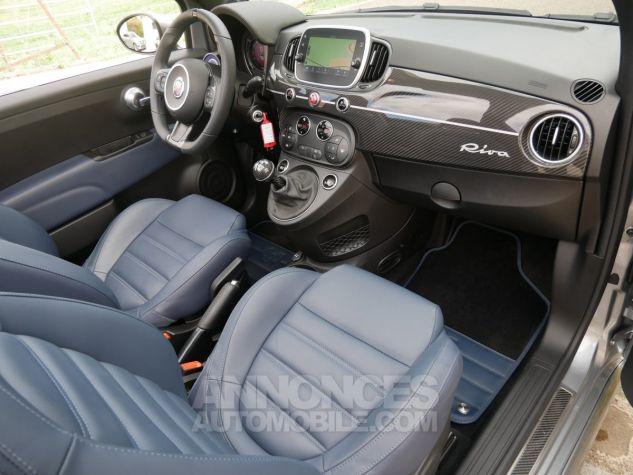 Abarth 695 C RIVALE, Xénon, GPS, Beats, Carbone, Akrapovic Blu Riva / Grigio Ferrari méta Occasion - 6