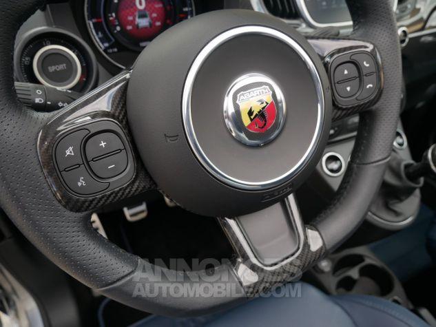 Abarth 695 C RIVALE, Xénon, GPS, Beats, Carbone, Akrapovic Blu Riva / Grigio Ferrari méta Occasion - 14
