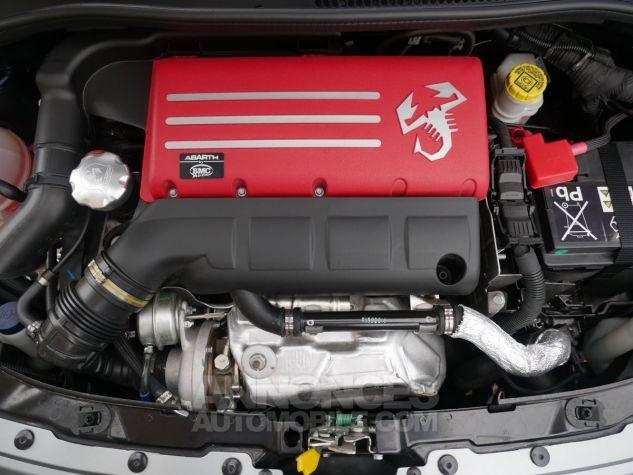 Abarth 695 C RIVALE, Xénon, GPS, Beats, Carbone, Akrapovic Blu Riva / Grigio Ferrari méta Occasion - 21