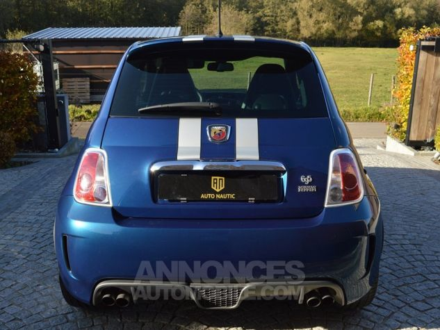 Abarth 695 TRIBUTO FERRARI !!! bleu Occasion - 4