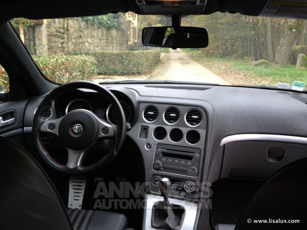 Alfa Romeo 159 JTDM Pack Ti cuir noir Occasion - 7