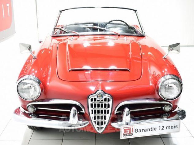 Alfa Romeo 1600 Giulia Spider Rosso ALFA Occasion - 5