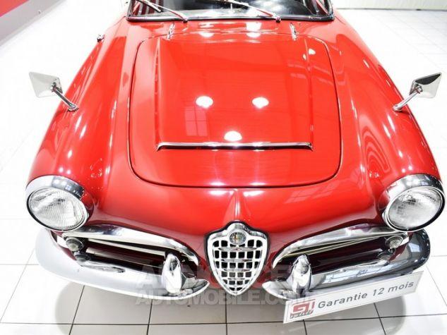 Alfa Romeo 1600 Giulia Spider Rosso ALFA Occasion - 11