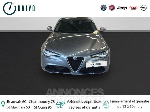 Alfa Romeo Giulia 2.2 JTD 136ch Edizione AT8 MY19 Gris Stromboli Occasion - 2