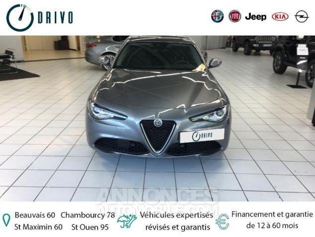Alfa Romeo Giulia 2.2 JTD 136ch Edizione AT8 MY19 Gris Stromboli Occasion - 16