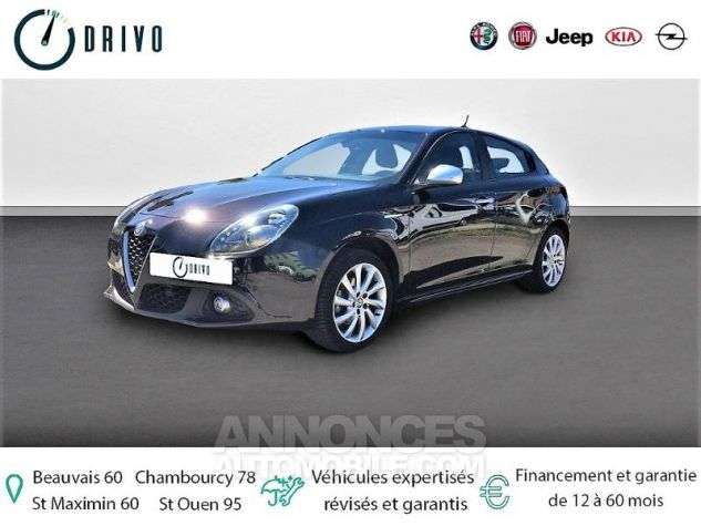 Alfa Romeo Giulietta 1.4 TJet 120ch Super Stop&Start Noir Métal Occasion - 0