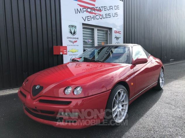 Alfa Romeo Spider 2.0 Twin Spark Rouge Verni Occasion - 0
