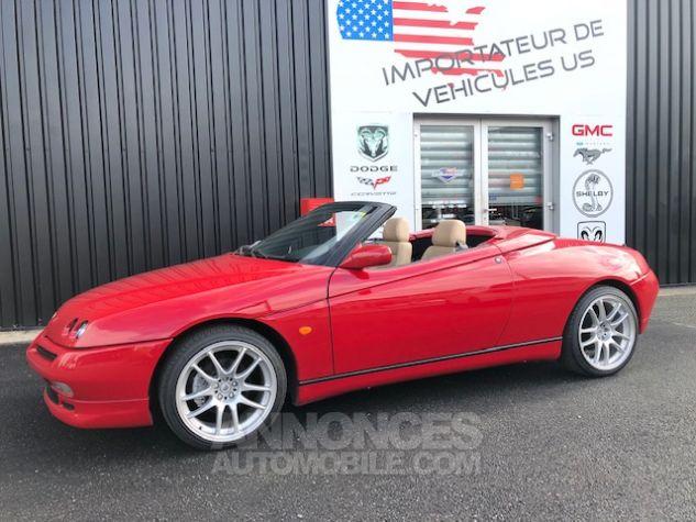 Alfa Romeo Spider 2.0 Twin Spark Rouge Verni Occasion - 7