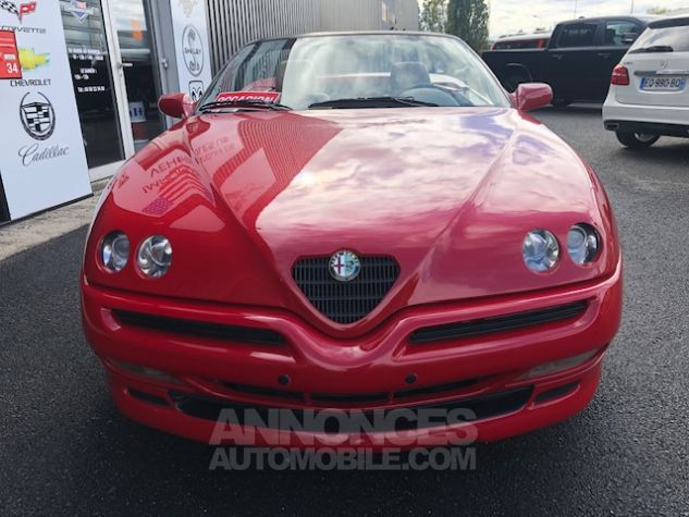 Alfa Romeo Spider 2.0 Twin Spark Rouge Verni Occasion - 9
