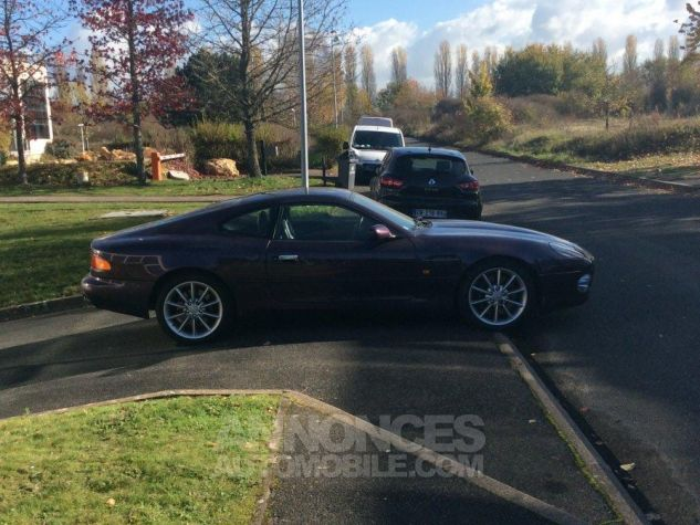 Aston Martin DB7 V12 vantage Mauve métallisé  Occasion - 3