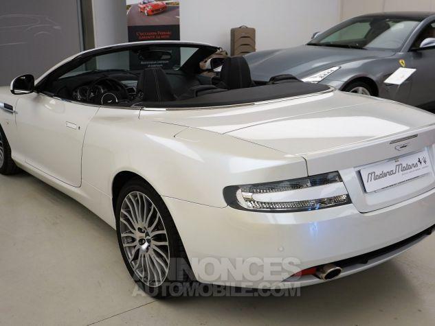 Aston Martin DB9 VOLANTE BLANC Occasion - 4