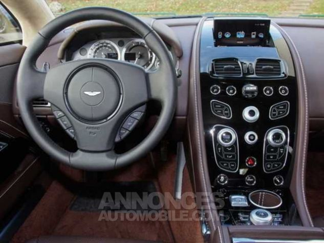 Aston Martin RAPIDE S TOUCHTRONIC III 8 vitesses Silver Fox métal Direction - 3