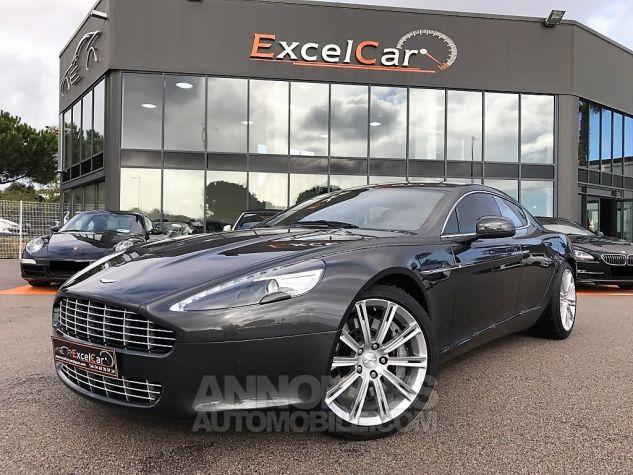 Aston Martin RAPIDE V12 TOUCHTRONIC Gris Tungstène Métal Occasion - 1