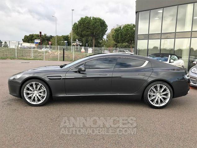 Aston Martin RAPIDE V12 TOUCHTRONIC Gris Tungstène Métal Occasion - 3