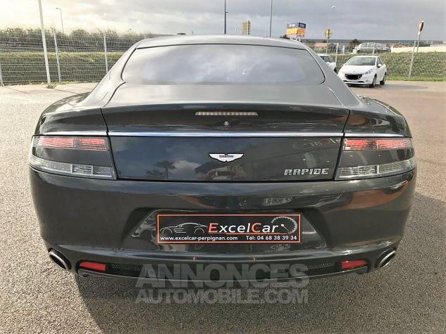 Aston Martin RAPIDE V12 TOUCHTRONIC Gris Tungstène Métal Occasion - 7