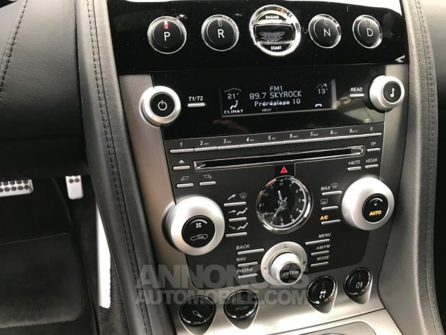 Aston Martin RAPIDE V12 TOUCHTRONIC Gris Tungstène Métal Occasion - 13