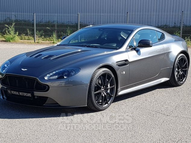 Aston Martin V12 Vantage S COUPE 6.0 573 CH SPORTSHIFT III Gris foncé Occasion - 0