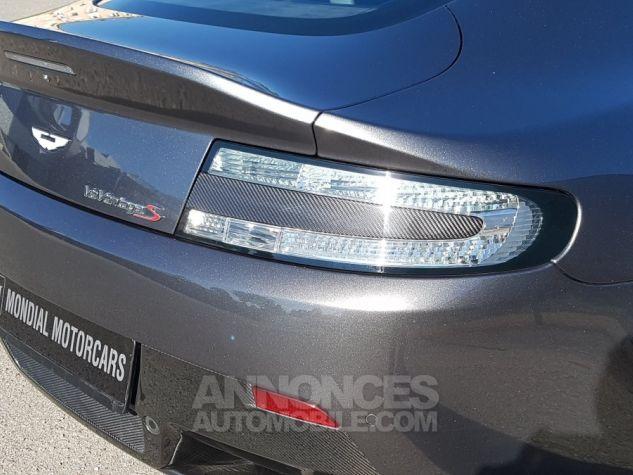 Aston Martin V12 Vantage S COUPE 6.0 573 CH SPORTSHIFT III Gris foncé Occasion - 11