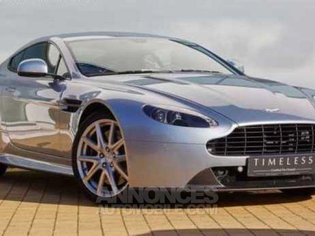 Aston Martin V8 Vantage S N430 SPORTSHIFT II Sky Fall Silver métal Occasion - 1