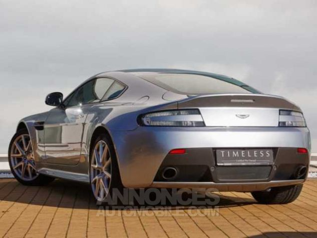 Aston Martin V8 Vantage S N430 SPORTSHIFT II Sky Fall Silver métal Occasion - 2