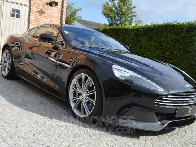 Aston Martin VANQUISH V12 574 ch Touchtronic 1 MAIN !!! noir Occasion - 2