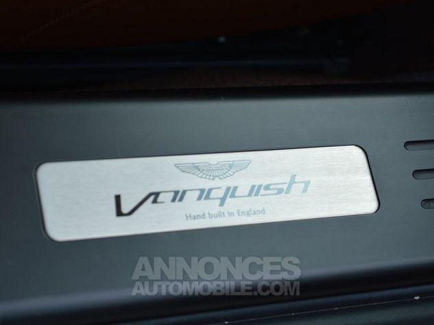 Aston Martin VANQUISH V12 574 ch Touchtronic 1 MAIN !!! noir Occasion - 12