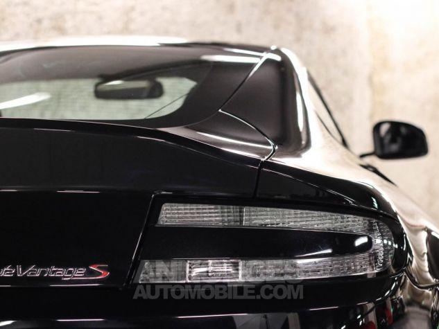Aston Martin VANTAGE S Coupe V12 Sportshift III Noir Métallisé Leasing - 21