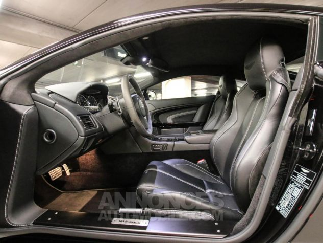 Aston Martin VANTAGE S Coupe V12 Sportshift III Noir Métallisé Leasing - 36