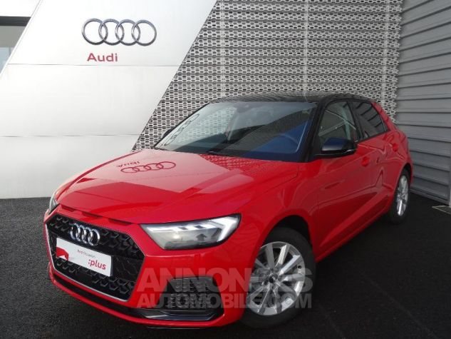 Audi A1 Sportback 30 TFSI 116ch Design Luxe S tronic 7 ROUGE MISANO Occasion - 0