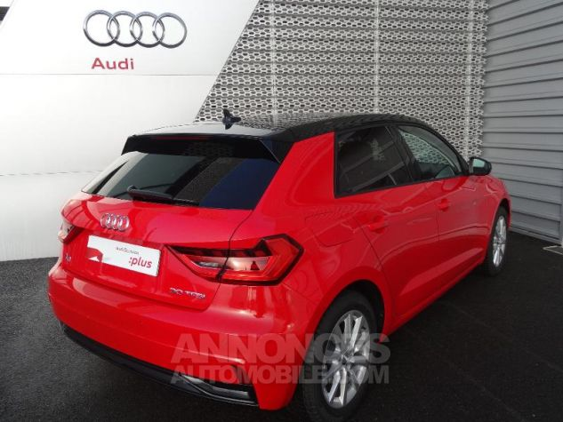Audi A1 Sportback 30 TFSI 116ch Design Luxe S tronic 7 ROUGE MISANO Occasion - 3